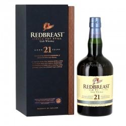 Redbreast 21 ans Single Pot Still 46% et son coffret