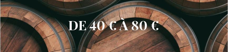 Whisky de 40 € à 80 € - Mon Whisky