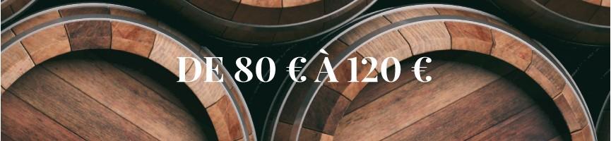 Whisky de 80 € à 120 €