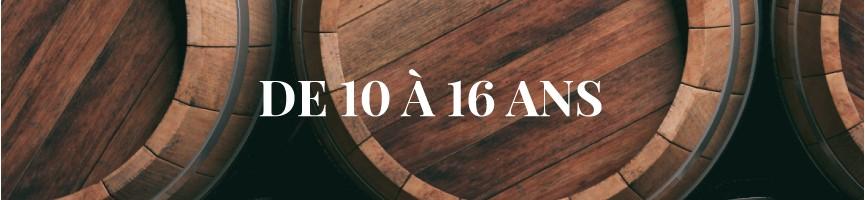 Whisky entre 10 ans et 16 ans