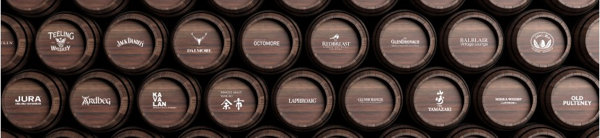 Whisky par distilleries
